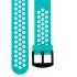 Star 2 玩色造型22mm快拆錶帶【藍綠】 1
