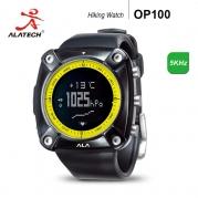 OP100專業戶外登山心率錶(附心率帶)