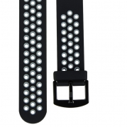 Star 2 玩色造型22mm快拆錶帶【黑灰】