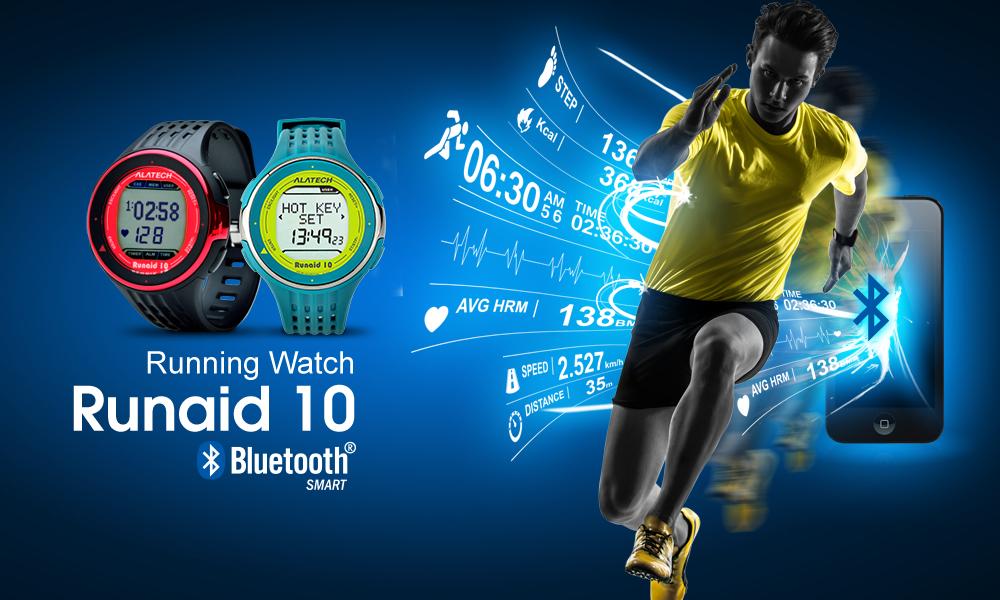 Runaid10 新一代藍牙4.0跑步錶